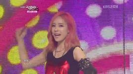 lovey dovey (120629 music bank) - t-ara