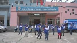 nhay flashmob tai hoa binh city - thai trinh