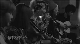 lonely (acoustic version) - 2ne1, sungha jung