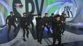 spy (live - music bank) - super junior