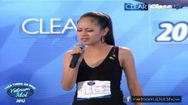 hoang quyen - nhung loi buon (top 60 vietnam idol 2012) - v.a