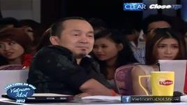 tran thanh huyen - trot yeu anh roi (top 60 vietnam idol 2012) - v.a