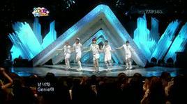 genie (live) - shinee, mc mong, 2pm