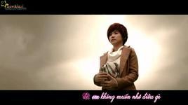 quen cach yeu (video lyrics) - luong bich huu