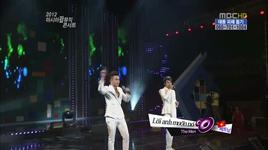 em luon o trong tam tri anh (2012 asia pop music concert) - the men