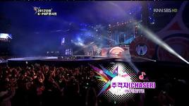 the chaser (121003 incheon k-pop concert) - infinite