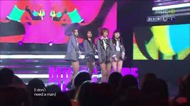 i don't need a man (121103 music core) - miss a