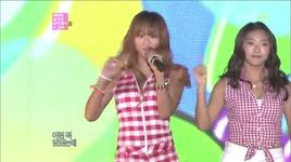 loving u (121202 mbc korean music wave in kobe) - sistar