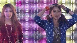 lovey dovey, sexy love (121202 mbc korean music wave in kobe) - t-ara