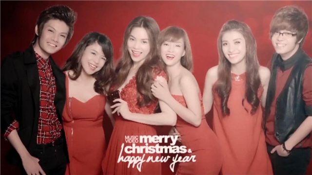 merry christmas happy new year hồ ngọc ha bui anh tuấn đinh hương thai trinh tieu chau như quỳnh đao ba lộc nhaccuatui