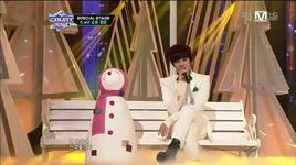 white love (121220 m! countdown christmas special stage) - k.will, soyou, jeong min (boyfriend)