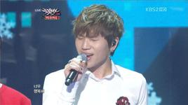 white love (121221 music bank year end special) - k.will, sistar, boyfriend