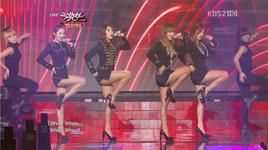 alone (121221 music bank year end special) - sistar