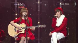 be ma girl (121221 music bank year end special) - juniel, niel (teen top)
