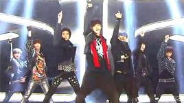 spectrum (121229 sbs gayo daejun) - yunho (dbsk), tae min (shinee), minho (shinee), dong hae (super junior), eun hyuk (super junior)