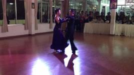 slow waltz & tango (sagadance 191212) - dancesport, giang chau, quynh quyen