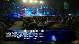tim lai bau troi (liveshow bai hat yeu thich 3/2012) - tuan hung