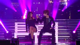 love in hanoi (120406 music bank in vietnam) - hyolyn, thunder (mblaq)