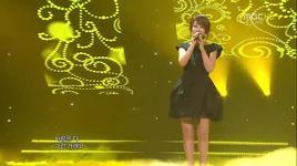 love is all like this (120414 music core) - yangpa, davichi, hanna