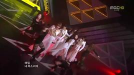 volume up (120428 music core) - 4minute