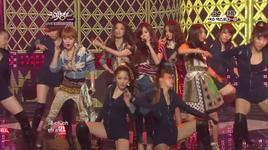 volume up (120504 music bank) - 4minute