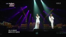 lost in love (130111 music bank) - tae yeon (snsd), tiffany (snsd)