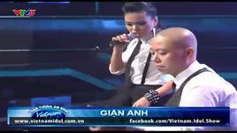gian anh - phuong vy idol - ket qua gala 8 (vietnam idol 2012) - v.a