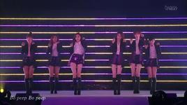 bo peep, cry cry, roly poly (120303 kiss in tokyo) - t-ara