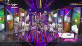 jeon won diary (130503 music bank comeback stage) - t-ara n4