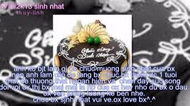 chuc mung sinh nhat (handmade clip) - phan dinh tung