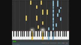 wavin' flag  - hoa tau, piano