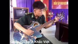 quen - hoa tau, guitar