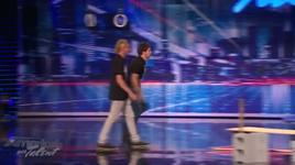 america's got talent - the nut mutilation guy - nick cannon kicks a contestent in the nuts (season 7) - v.a