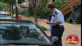 just for laughs gags - policeman throwing food on car gag - vol 4 - v.a