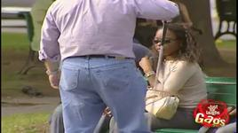 just for laughs gags - blind man sits on people prank - vol 5 - v.a