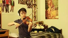 lucky - jason mraz (violin cover) - jun sung ahn