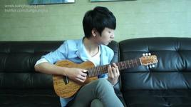 blue - big bang (guitarlele)  - sungha jung