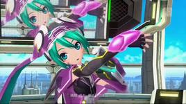 online game addicts sprechchor (project diva f) - hatsune miku
