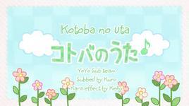 kotoba no uta (vietsub, kara) - hatsune miku, gumi