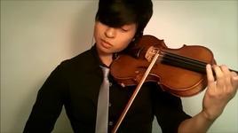 kiss the rain - yiruma (violin cover) - daniel jang