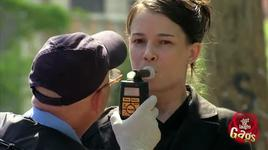 just for laughs gags - police officer forces drivers to blow on breathalyzer - vol 8 - v.a