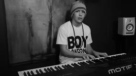 say you're just a friend (piano version) - austin mahone