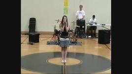 'breaking free' at school talent show - savannah outen
