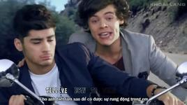 kiss you  (vietsub, kara) - one direction
