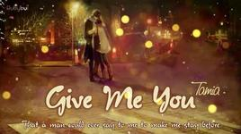 give me you (nightcore, lyric) - tamia