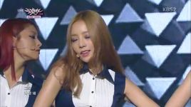 damaged lady (130927 music bank) - kara