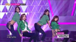 gun (131012 music core) - nine muses