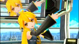 online game addicts sprechchor (project diva f) - akita neru, yowane haku