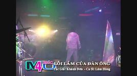 loi cua dan ong (live) - lam hung