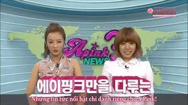 a pink news - season 3, tap 1 (vietsub) - a pink